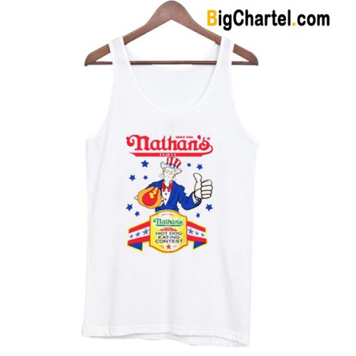 Joey Chestnut Nathan's Eating Contest Tank Top-Si