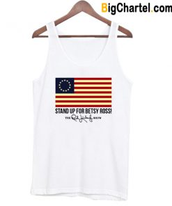 Rush Limbaugh Stand Up For Betsy Ross Flag Youth Tank Top-Si