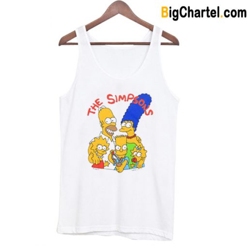 The Simpsons 1989 Tank Top-Si