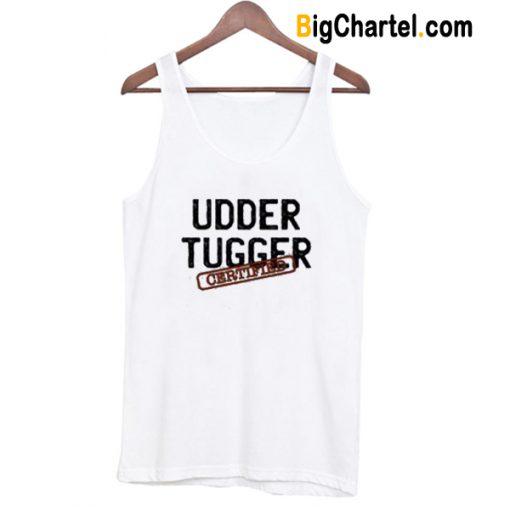 Udder Tugger Certified Tank Top-Si