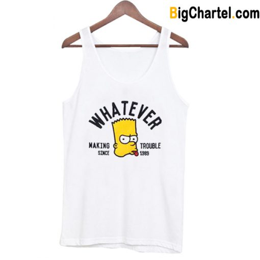 Whatever Bart Simpson Tank Top-Si