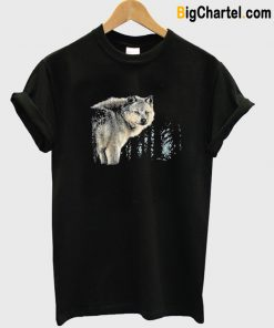 Wildlife Nature Wild Wolf T-Shirt-Si