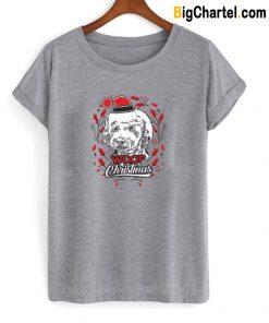 Woof Christmas T-Shirt-Si