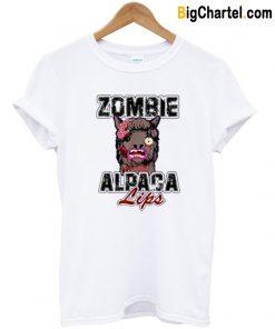 Zombie Alpaca T-Shirt-Si