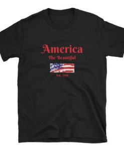 America The Beautiful - Short-Sleeve Unisex T-Shirt