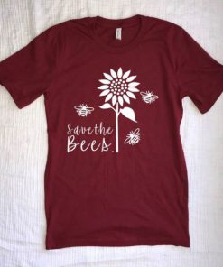 Women Save The Bees T-Shirt