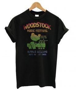 Woodstock Music Festival Aug 15-17 1969 T shirt
