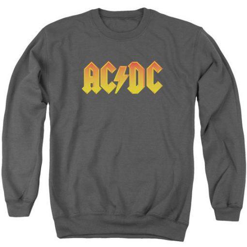 Ac dc grey Sweatshirt