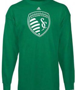 Adidas Sporting Kansas City Kelly Green Sweatshirt