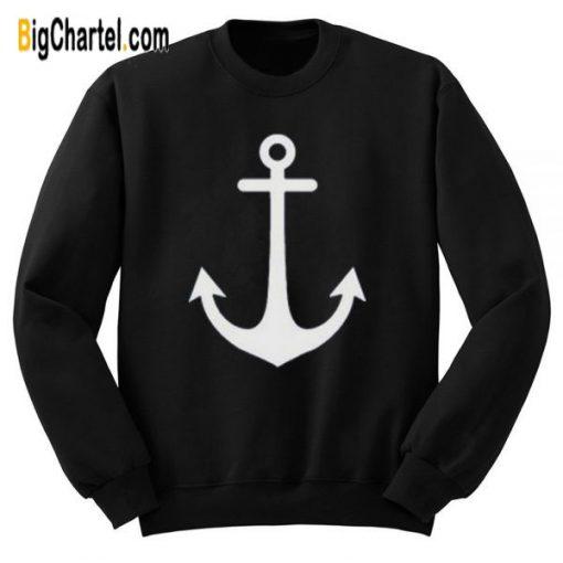 Anchor Symbol Sweatshirt