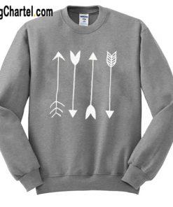 Arrows Graphic Sweatshirt