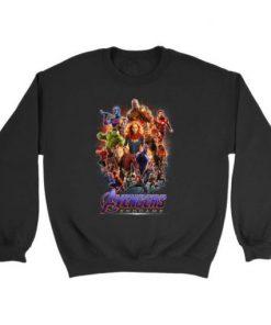 Avengers Endgame Marvel Thanos Thor Vision Captain America Sweatshirt BC19