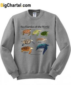 Sea Turtle of The World Sweatshirt