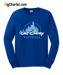 Walt Disney Pictures Logo Blue Sweatshirt