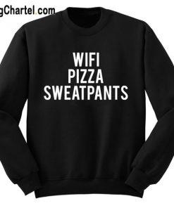 Wifi Pizza Sweatpants Sweatshirt