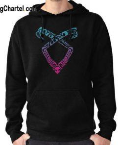 Angelic Runes Symbol Hoodie