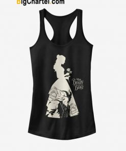 Beauty and the Beast Silhouette Tank Top