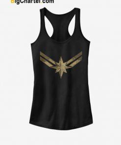 Captain Marvel Symbol Tank Top