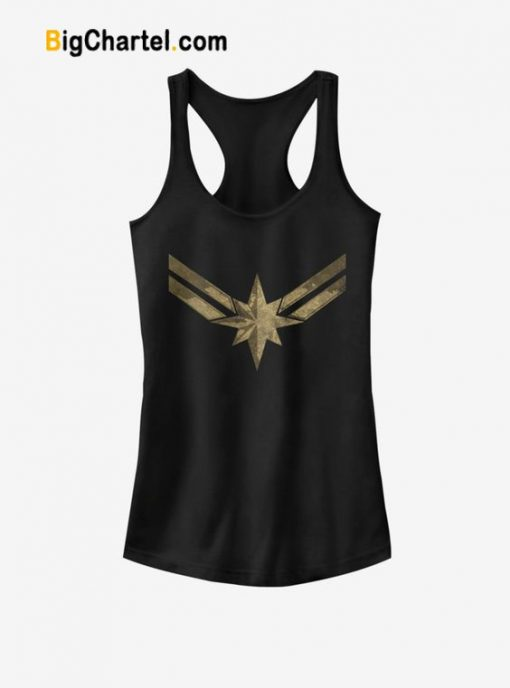 Captain Marvel Symbol Tank Top