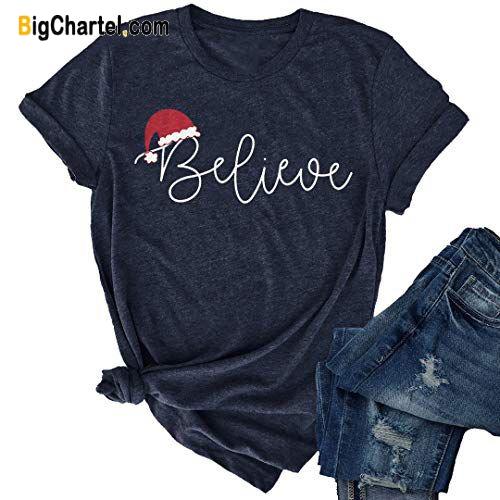 Christmas Believe T Shirt