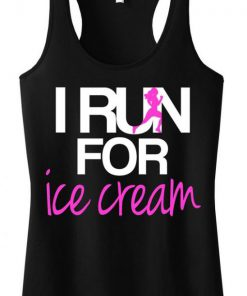I RUN for Ice Cream TankTop