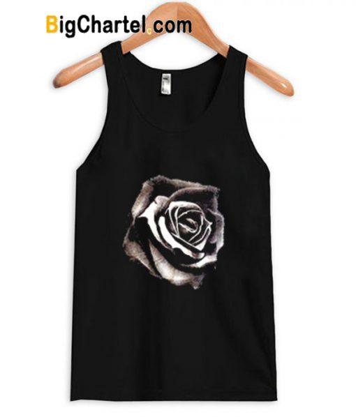 black rose tank top