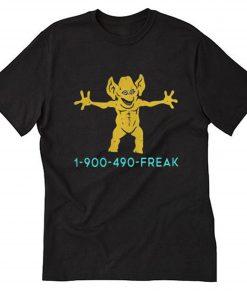 1 900 490 Freddie Freaker T-Shirt PU27