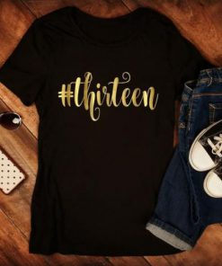 13th Birthday Girl T-Shirt