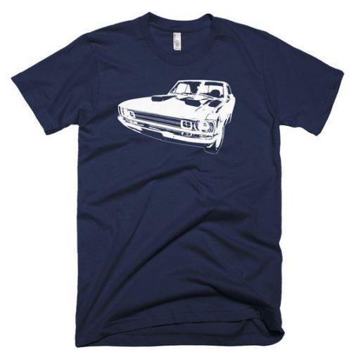 1972 Dodge Dart – Modern Rodder – Men's T-Shirt