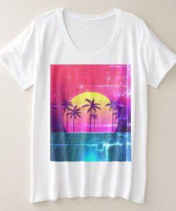 90's Style Retro Futuristic T-Shirt