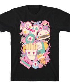 90s Toys Candy and Makeup T-Shirt