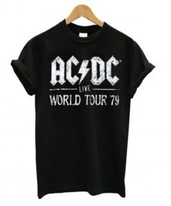 ACDC Live World Tour 79 T shirt