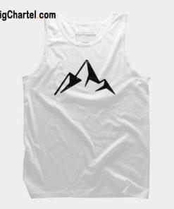 Abstract Mountain Tank Top