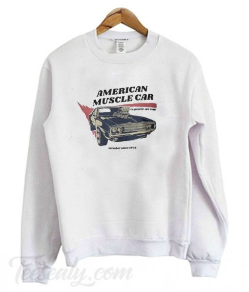 American Muscle Car Sweatshirt