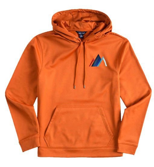 Aro Graphic Flex Orange Hoodie