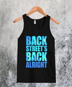 Backstreet's Back Alright Tanktop