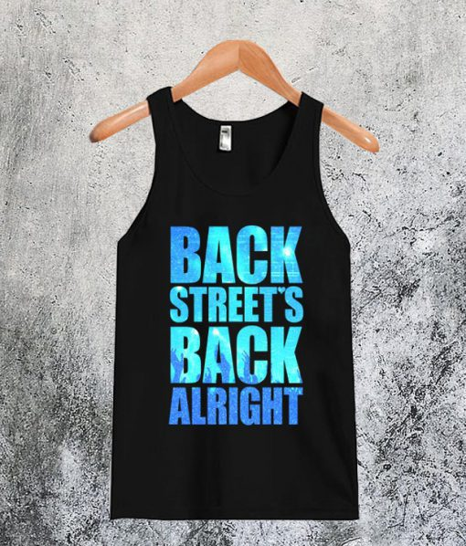 Backstreet's Back Alright Tanktop