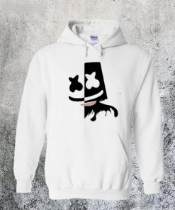 Black and White Marshmello Hoodie