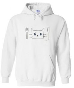 Cat Face Hungry Hoodie