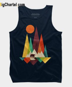 Mountain Bear Tank Top