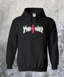 Thrasher X Girl Hoodie