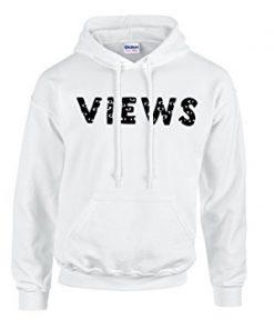 Views White Hoodie