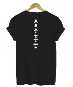 Virgin Galactic Back T shirt