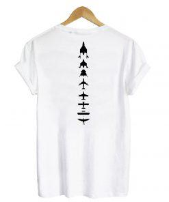 Virgin Galactic Back White T shirt