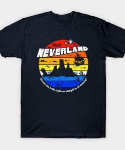 Visit Neverland T Shirt PU27
