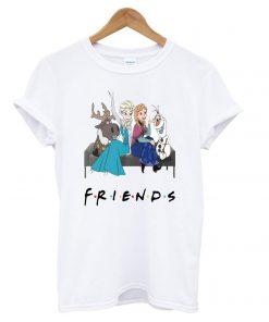 Walt Disney Frozen Friends TV Show T shirt