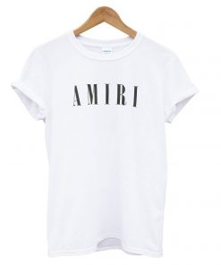 White AMIRI CORE T shirt