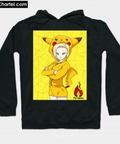 18 wearing Pikachu Hoodie PU27