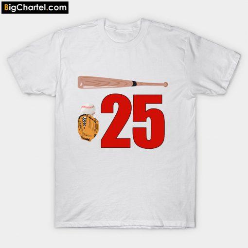 25 jim thome T-Shirt PU27