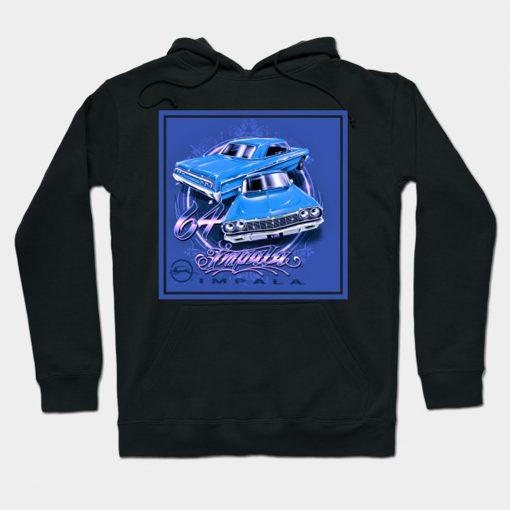 64 Classic Impala Art Hoodie PU27